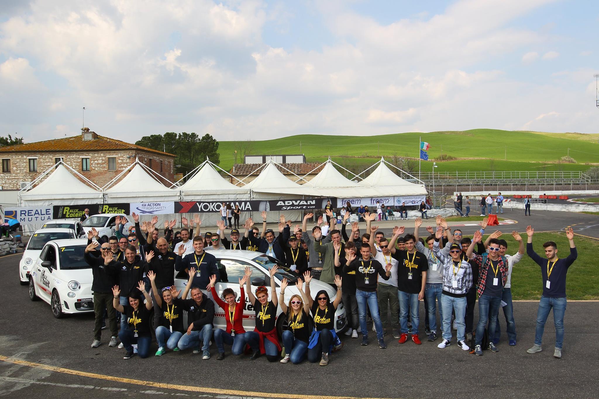 Italia rally talent
