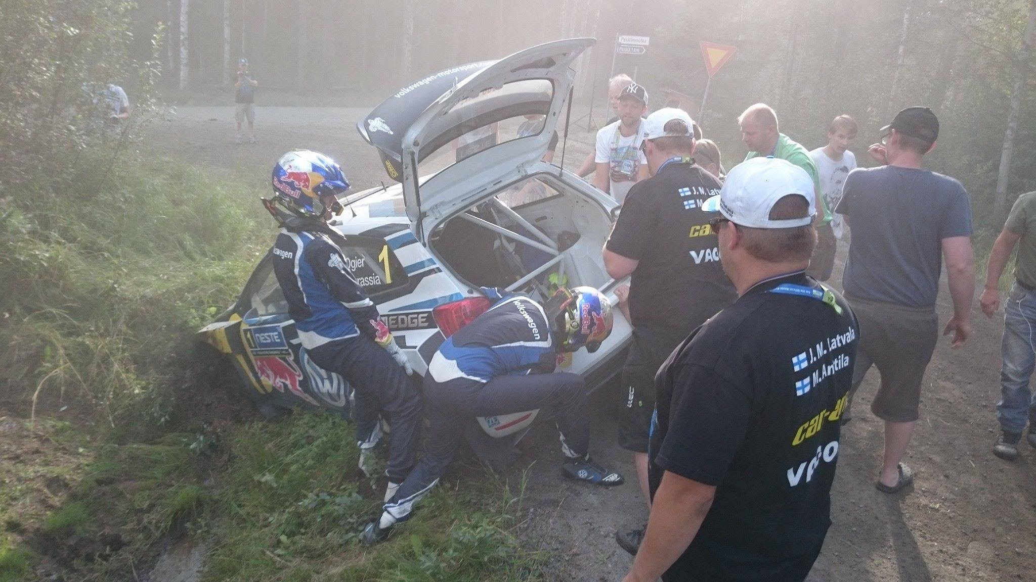 Ogier Incidente Finlandia