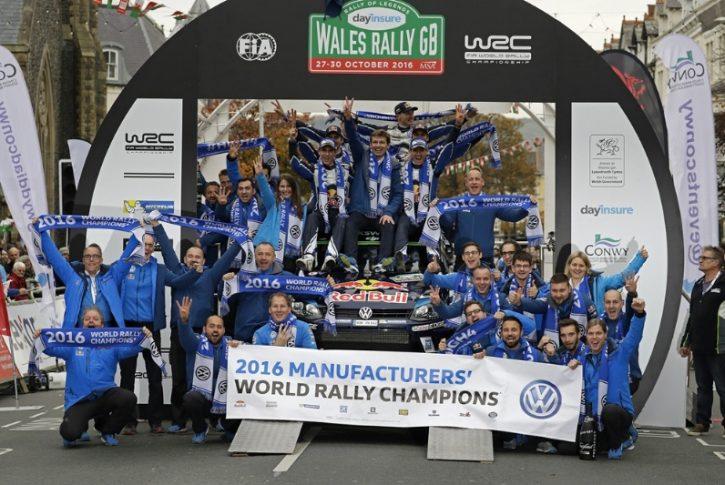 Volkswagen Motorsport campione 2016