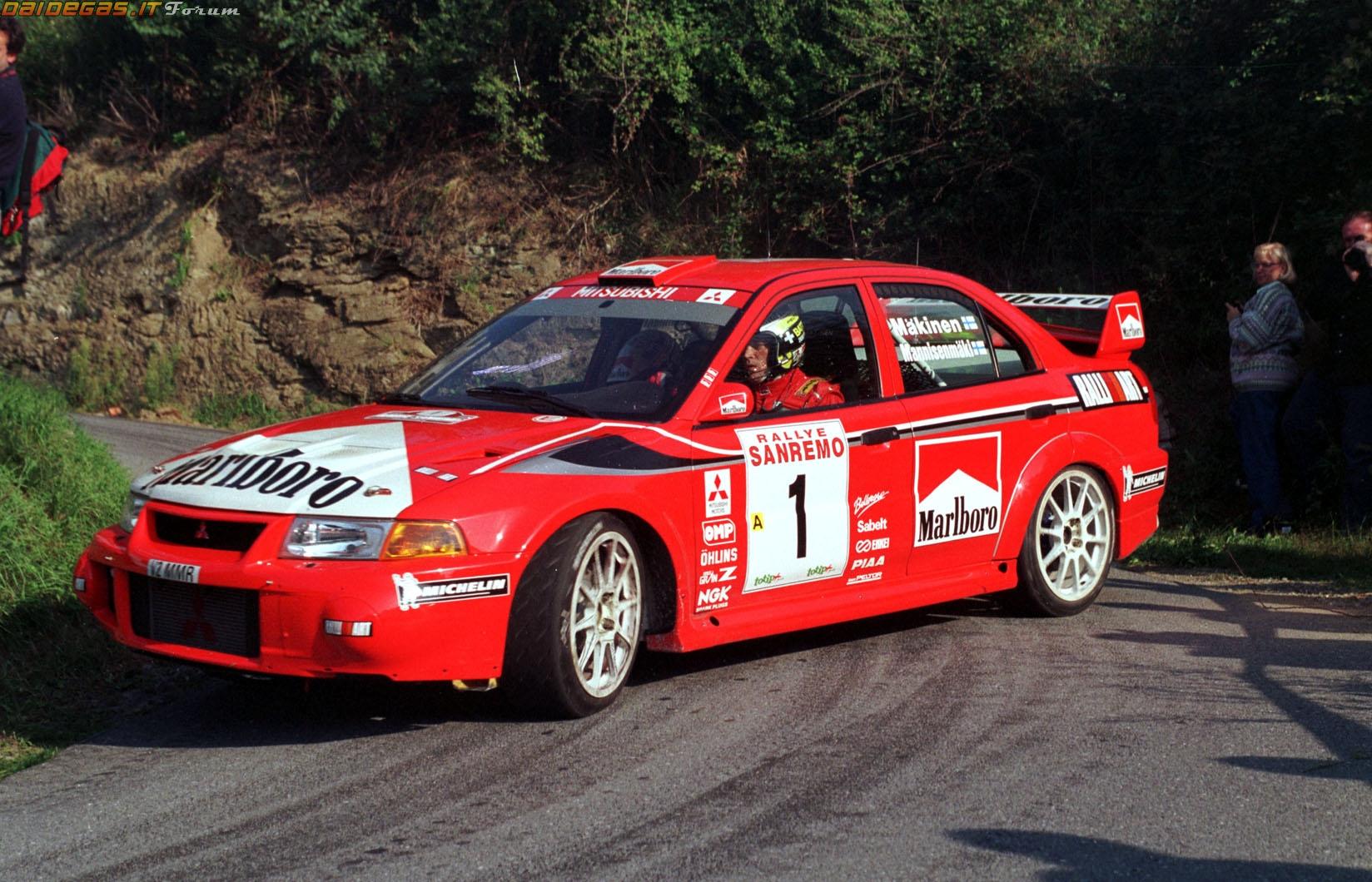 Tommi Makinen Tommi Mitsubishi Lancer Evo Rally Pictures