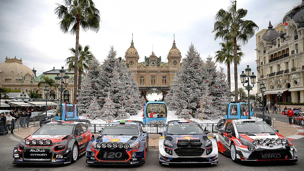 wrc rally montecarlo 2018 programma completo rallyssimo. Black Bedroom Furniture Sets. Home Design Ideas