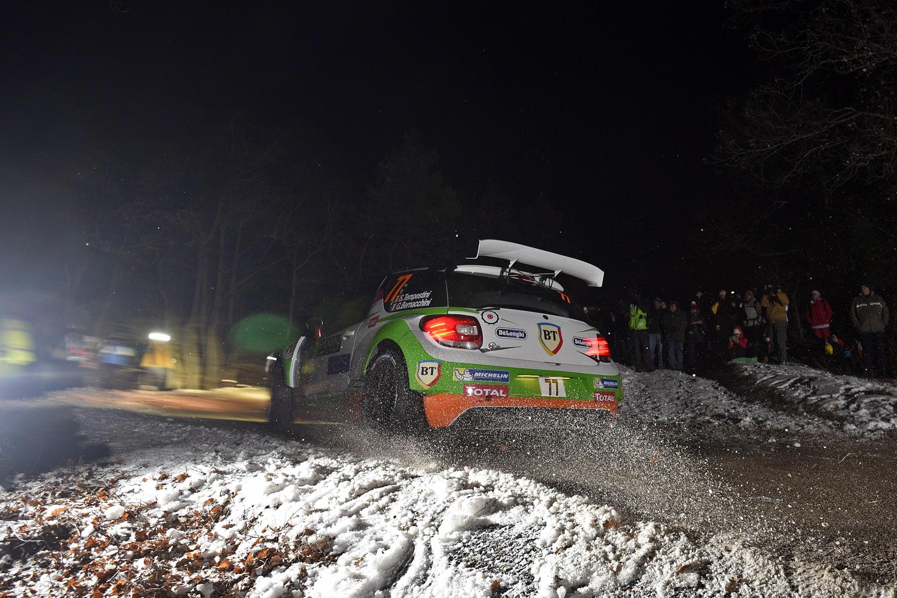 Rally di Montecarlo. Ogier prende la testa