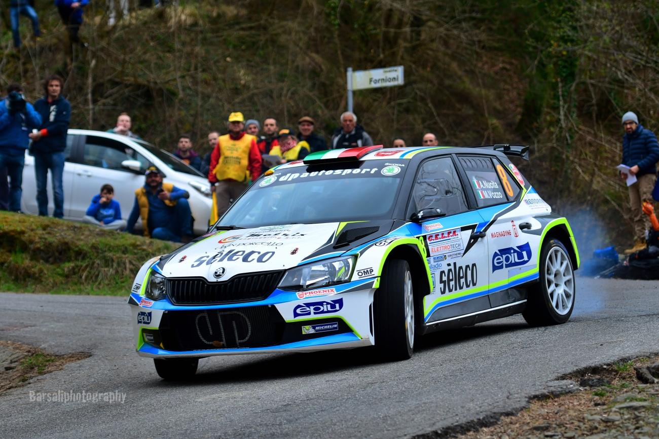 Paolo Andreucci rilancia la sfida e cerca l'acuto al rally di Sanremo