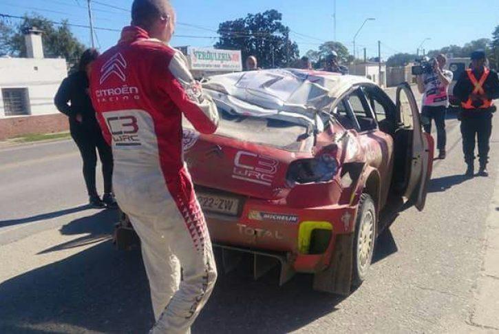 kris meeke incidente argentina