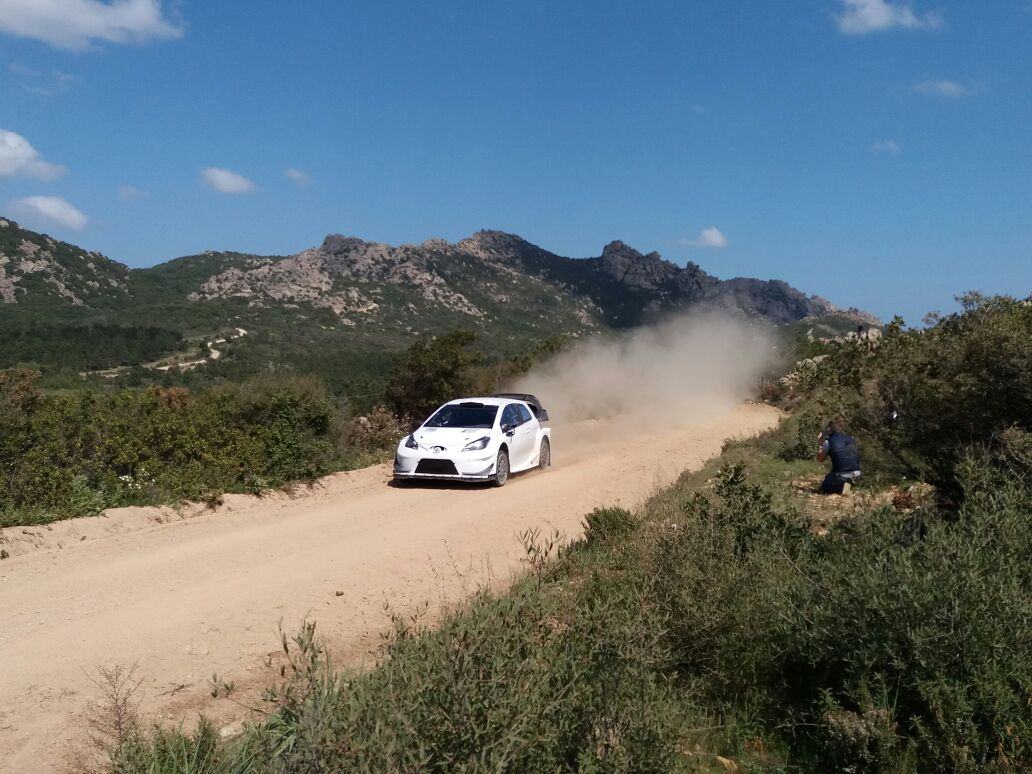 Hanninen Test Sardegna WRC