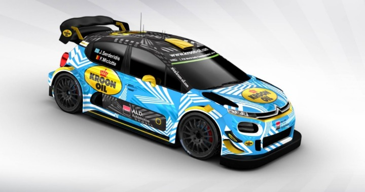 wrc jourdan serderidis con la citroen c3 plus nel 2018. Black Bedroom Furniture Sets. Home Design Ideas