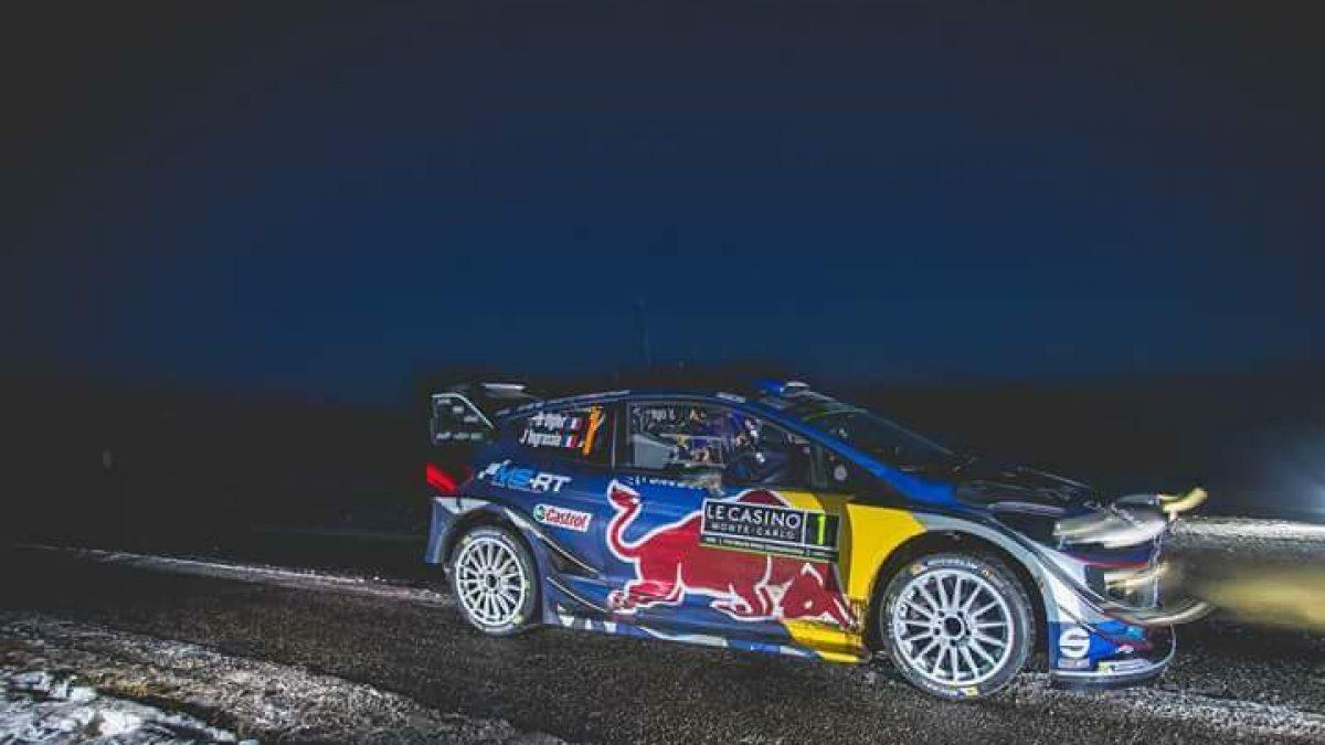 Sainz Jr. al Rally di Montecarlo con Renault