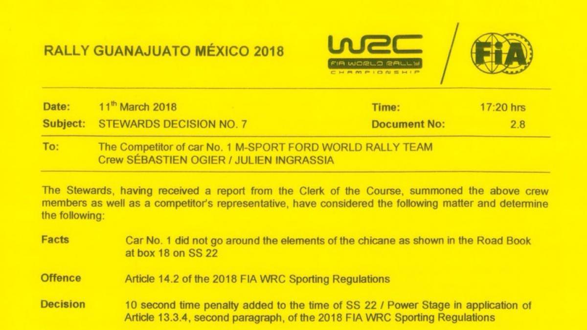 Rally Messico, Neuville al comando dopo la prova serale